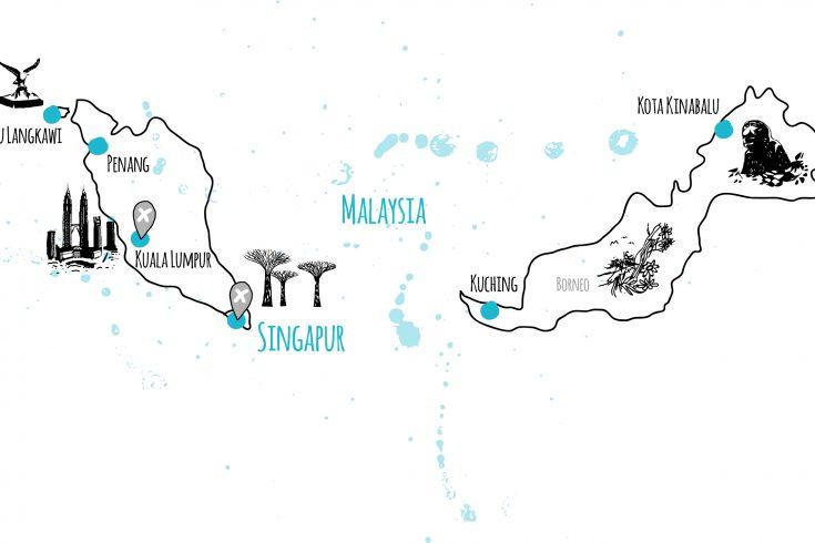 länder und orte malaysia