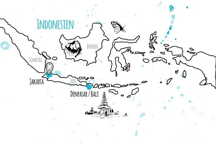 länder und orte indonesien