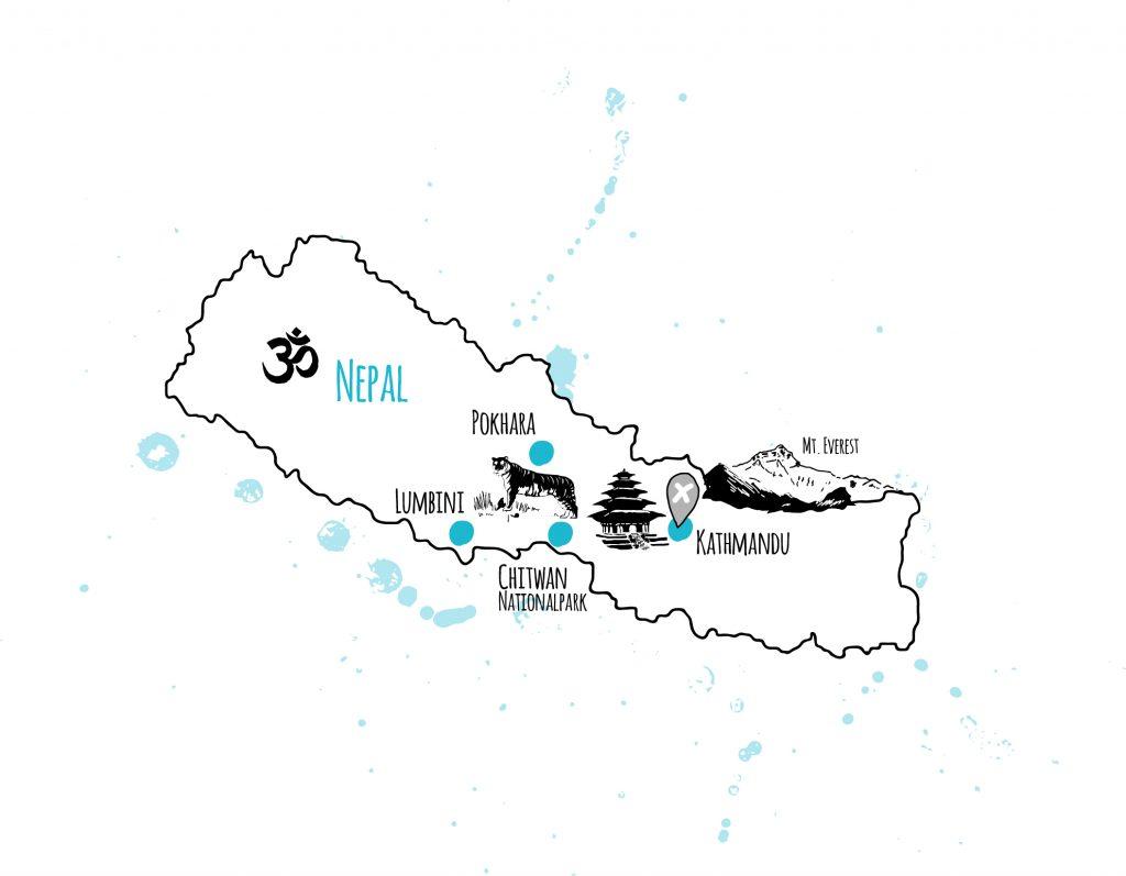 länder und orte nepal